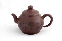 lägga in tea Fotografering för Bildbyråer