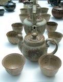 lägger in tea Fotografering för Bildbyråer
