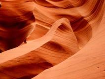 Lägre bildande för röd sandsten för antilopkanjon - Arizona Navajo USA arkivfoton