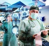 Nöd- läkarundersökning Royaltyfria Bilder