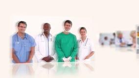 läkarundersökning stock video