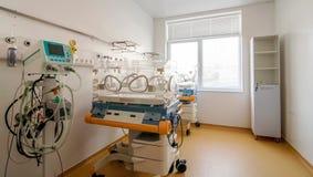 Läkarundersökning-diagnostisk utrustninglokal Arkivfoto