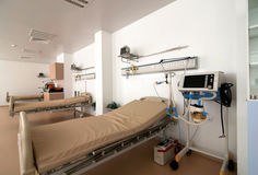 Läkarundersökning-diagnostisk utrustninglokal Royaltyfri Foto