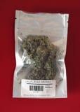 läkarundersökning för marijuana för påseKalifornien druvor Royaltyfri Bild