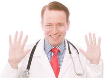 Läkarundersökning tio Arkivfoto