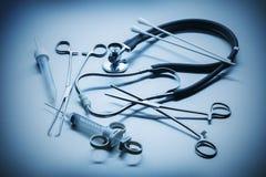 Läkarundersökningen instrumenterar Royaltyfria Foton