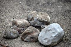 Lämna ingen sten unturned Royaltyfri Foto