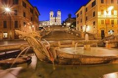 Lämnat Rome spanskt slut Arkivfoton