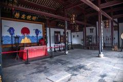Län av Hubei Badong länrekonstruktion Arkivfoto