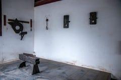 Län av Hubei Badong länrekonstruktion Fotografering för Bildbyråer