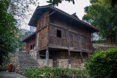 Län av Hubei Badong länrekonstruktion Royaltyfri Foto