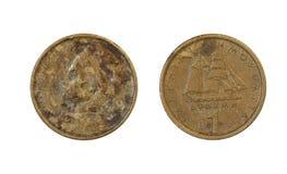 Münzen Von Griechenland Stockbild Bild Von Makro Ansammlung 45276795