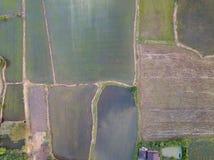 Ländlich auf landeinwärts für Landwirtschaftsbereich Lizenzfreie Stockfotografie