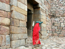 Ländliche indische Arbeitskraft Lizenzfreies Stockbild