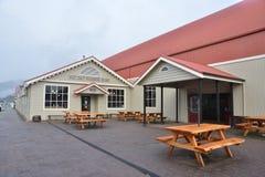 Ländliche Kaffeestube Tasmaniens lizenzfreie stockfotos