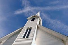 Ländliche Kirche Lizenzfreies Stockfoto