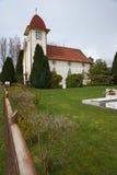Ländliche Kirche im chilenischen See-Bezirk Lizenzfreie Stockbilder