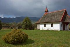 Ländliche Kirche im chilenischen See-Bezirk Lizenzfreie Stockfotos