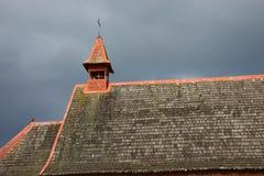 Ländliche Kirche im chilenischen See-Bezirk Lizenzfreies Stockfoto