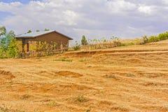 Ländliche Landschaft in Äthiopien Lizenzfreies Stockbild