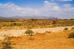 Ländliche Landschaft in Äthiopien Stockbild