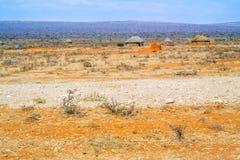 Ländliche Landschaft in Äthiopien Stockfoto