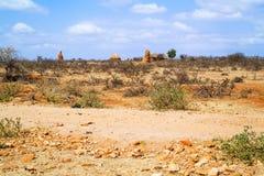 Ländliche Landschaft in Äthiopien Lizenzfreie Stockbilder