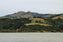 Ländliche Landschaft auf der Bank-Halbinsel Lizenzfreie Stockbilder