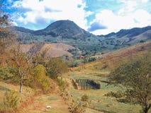 ländliche Landschaft in Brasilien lizenzfreie stockbilder