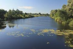 Ländliche Landschaft in der Nähe der Badekurort Lizenzfreie Stockfotografie