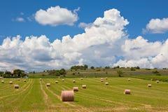 Ländliche Landschaft, Frankreich Stockfotos