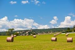 Ländliche Landschaft, Frankreich Stockbilder