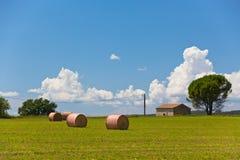 Ländliche Landschaft, Frankreich Lizenzfreies Stockfoto