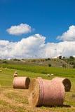 Ländliche Landschaft, Frankreich Lizenzfreies Stockbild