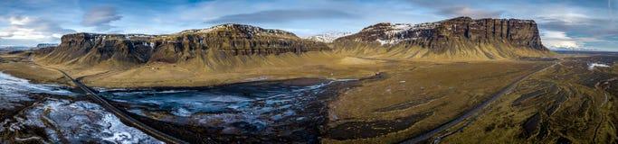Ländliche Landschaft, Island Stockfotografie