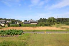 Ländliche Landschaft in Japan Stockbilder