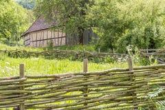 Ländliche Landschaft mit Scheune Lizenzfreie Stockfotografie