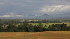 Ländliche Landschaft nahe Wauchope, New South Wales Lizenzfreie Stockfotografie