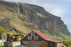 Ländliche Landschaft, Süd-Island Stockfotografie