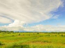 Ländliche Landschaft in Tansania Stockfotografie