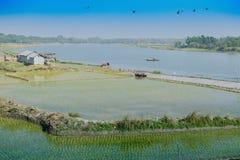 Ländliche Landschaft von Indien Stockbilder