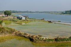 Ländliche Landschaft von Indien Lizenzfreies Stockbild