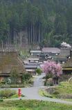 Ländliche Landschaft von Japan Lizenzfreies Stockbild