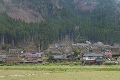 Ländliche Landschaft von Kyoto, Japan Lizenzfreie Stockfotos