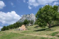 Ländliche Landschaft von Montenegro stockfotos