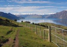 Ländliche Landschaft von Neuseeland Lizenzfreie Stockfotos