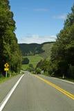 Ländliche Landstraße Neuseeland Lizenzfreie Stockfotos
