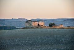 Ländliche Ruine in Sizilien, Süd-Italien Lizenzfreie Stockfotos