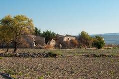 Ländliche Ruine in Sizilien, Süd-Italien Lizenzfreie Stockbilder