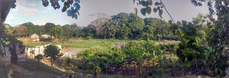 Ländlicher Aspekt der Stadtrände der Stadt von Santo Domingo Lizenzfreies Stockfoto